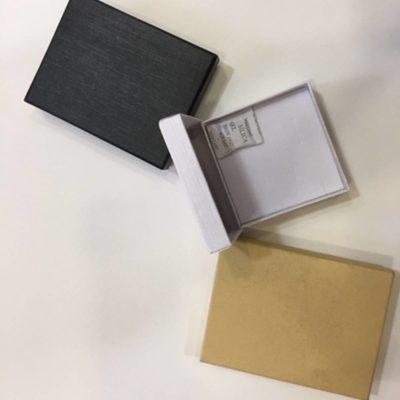 קופסאות תכשיטים לבן/שחור/טבעי