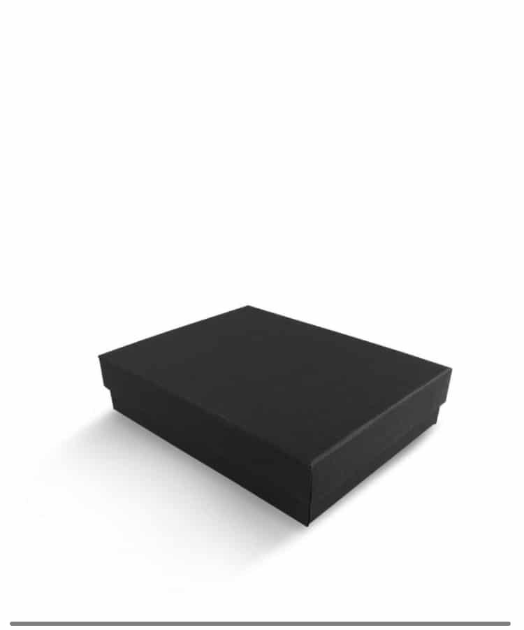 קופסה 10/13 לבנה חלקה,שחורה חלקה