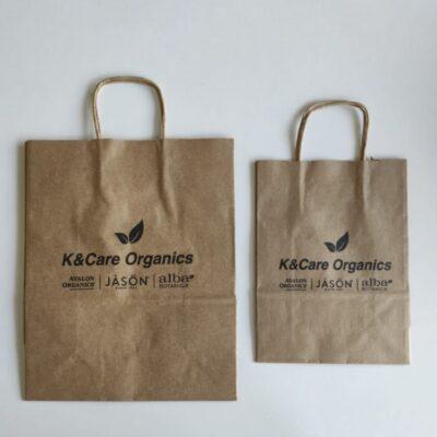 שקיות נייר ממותגות – Kַ&care